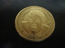 1997 Pinnacle Mint Football---Brett Favre Coin---Gold Plate---NrMt---XHTF