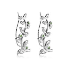 316L Surgical Steel Ear Vine Pin Wire Earring Stem Leaves 20 Gauge 20G