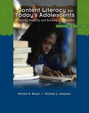 Content Literacy for Today's Adolescents : Honoring Diversity and Building...