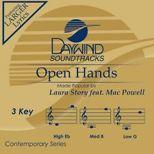 Laura Story with Mac Powell - Open Hands -  Accompaniment CD NEW