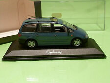 MINICHAMPS FORD GALAXY - PAUL'S MODEL ART - BLUE-GREY 1:43 - NMIB