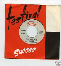 45 RPM SP JUKE BOX MICHEL FUGAIN TU PEUX COMPTER SUR MOI (1966)
