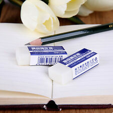 3pcs White Soft Drawing Pencil Eraser School Office Student Stationery Gifts