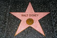 Framed Print - Hollywood Walk of Fame Walt Disney Floor Star (Picture Poster Art