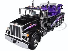 PETERBILT 367 CENTURY ROTATOR WRECKER TOW TRUCK BLACK 1/50 BY FIRST GEAR 50-3343
