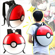 Pokemon Go Poke Ball PVC Bag Schoolbag Backpack Travelbag Lovely