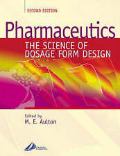 Pharmaceutics: The Science of Dosage Form Design, Good Condition Book, , ISBN 97