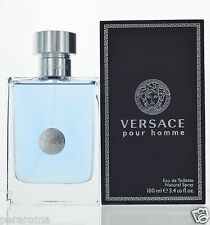 Versace Pour Homme by Versace for Men Eau De Toilette 3.4 OZ 100 ml Sealed