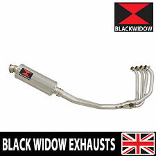KAWASAKI ZRX 1100 Full Exhaust System 300mm Round Stainless Silencer SN30R