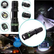 New 5000Lumen Zoomable XM-L T6 LED 18650 Flashlight Tactical Torch Lamp Light