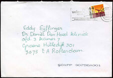 Netherlands 2007 Cover To Rotterdam #C19902