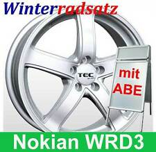 "16"" ABE Winterräder AS1 SL NOKIAN 205/55 Winterreifen für VW Cross Touran 1T, 1t"