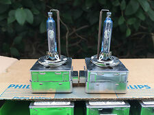 2x NEW! GENUINE OEM! Philips Xenon D3S Headlight BULBS HID HEAD LIGHT PAIR!