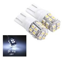 2 X T10 White LED Parking Number Plate Lights Bulbs W5W Camry Corolla Hilux