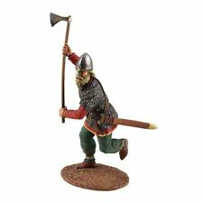 BRITAINS SOLDIER VIKING 62100 - Viking Wearing Spangenhelm, Attacking with Ax