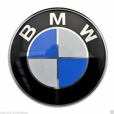 82MM Boot Bonnet Trunk Front Hood Badge Logo Emblem For BMW E46 E38 5 7 X Series