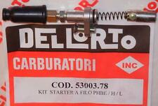 Dellorto PHBE 20-26mm cable operated starter kit Vespa, Ducati, Guzzi   53003-78