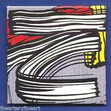 ROY LICHTENSTEIN 'Little Big Painting (Brushstroke)' 1965/2013 Fridge Magnet NEW