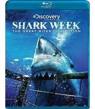 Shark Week: The Great Bites Collection (Blu-ray Disc, 2009) New