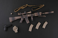 1/6 Scale MINI TIME US NAVY SEAL Battle of Abbas Ghar SNIPER RIFLE / PISTOL SET