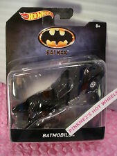 2016 BATMAN BATMOBILE ✿black✿1:50 Scale✿Hot Wheels DC Comics