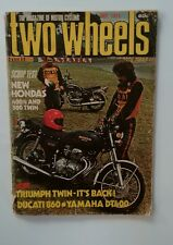 TWO WHEELS. MAY 1975