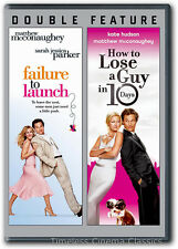 Failure to Launch / How to Lose a Guy in 10 Days DVD New Matthew McConaughey