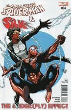 Amazing Spider- Man And Silk The Spiderfly Effect #4 (NM)`16 Thompson/ Nauck