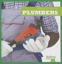 Plumbers (Bullfrog Books: Community Helpers)-ExLibrary