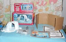 vintage Star Wars Micro Collection HOTH WAMPA CAVE in box with unused figures