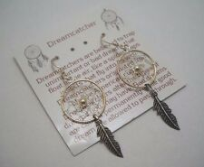 NEW 925 Sterling Silver Dreamcatcher Earrings NWT