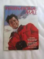 Preowned INTERNATIONAL MALE Catalog Holiday 1989