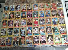 """1987 TOPPS: """"LOT of 50 TOPPS 1987 SUPERSTARS"""" - All Famous Players, Mint! Look!"""