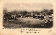 CPA Le Parc St. Maur La Gare des Marchandises (390475)
