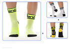 Unisex Bike Bicycle Cycling Socks Clothing Footwear One Size Black White Green
