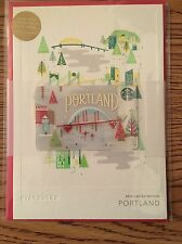 Starbucks 2016 Portland City Holiday Edition Card Greeting Card HOLIDAY RELEASE