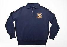 Polo Ralph Lauren Half-Zip Military Fleece Pullover in Size Large in Navy