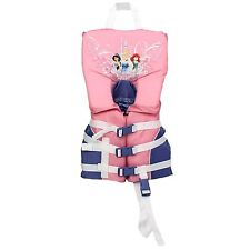 Disney Infant/Child Life Vest Boating Swimming Pool Lake Safety Princess Pink