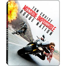 Mission impossible steelbook auchan  bluray limitée à 2000 exemplaires