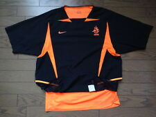 Netherlands Holland 100% Authenitc Player Issue Soccer Jersey Shirt L 2002/03