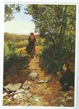 "Art  - ""Expectation""Painting, Ferdinand George Waldmuller Postcard"