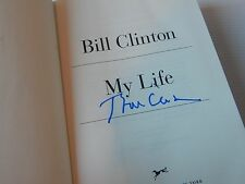 President WILLIAM JEFFERSON BILL CLINTON Signed MY LIFE Hardback Book 1st/1st