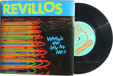 "Punk The REVILLOS 7"" Where's The Boy For Me ? / The Fiend 1979 LAMINATED Sleeve"