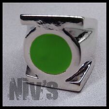 DC Comics Universe Green Lantern Official Movie Metal Silver Power Ring Size 9