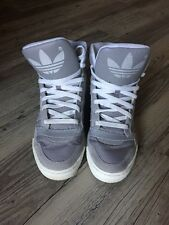 Adidas Originals Grey Gray Hi Tops Limited Edition Sneakers Shoes Street Wear