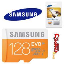 Microsd 128gb 48mb/s Classe 10 Originale Samsung Memoria EVO UHS-1 Micro sd Card