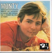 CD Single MONTY Bientôt les vacances EP REPLICA 4-track CARD SLEEVE  + RARE +