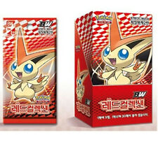 """POKEMON CARD BW """"Red Collection"""" BOOSTER BOX(30 pack) / Korean Ver"""
