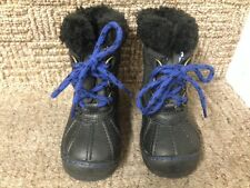 Bn baby gap bébé bambin thinsulate isolation bottes noires taille 6M infant