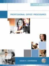 Professional Office Procedures by Susan H. Cooperman (2008, Paperback)